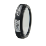 LFT-BP960-M35.5, Narrow bandpass filter,  960nM Peak wavelength, useful range between 930-986nM_