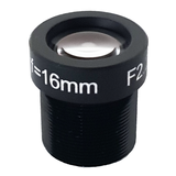 "LENS M12 10MP 16MM F2.2 for max sensorsize 2/3"" NON DISTORTION"