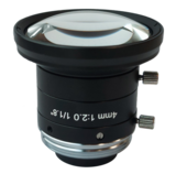 """LCM-5MP-04MM-F2.0-1.8-ND1, LENS C-mount, 5MP, 4MM, F2.0, 1/1.8"""" NON DISTORTION_"""
