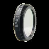 LFT-BP465-M27, Narrow bandpass filter,  465nM Peak wavelength, useful range between 442-494nM_