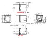 """MER-133-54GM, AR0135, 1280x960, 54fps, 1/3"""", Global shutter, CMOS, Mono_"""
