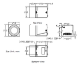 """MER-133-54U3C-L, AR0135, 1280x960, 54fps, 1/3"""", Global shutter, CMOS, Color_"""