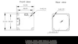 "VEN-161-61U3M, IMX296, 1440x1080, 61fps, 1/2.9"", Global shutter, Boardlevel, Mono_"