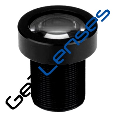 """LM12-5MP-03MM-F2.8-2-ND1, LENS M12 5MP 3.3MM F2.8 1/2"""" NON DISTORTION"""
