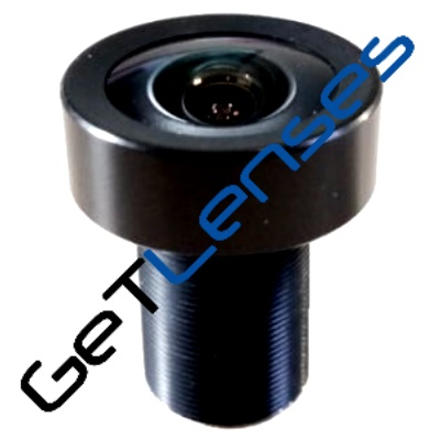 """LM12-5MP-05MM-F2.5-1.8-LD1, LENS M12 5MP 5MM F2.5 1/1.8"""" LOW DISTORTION"""