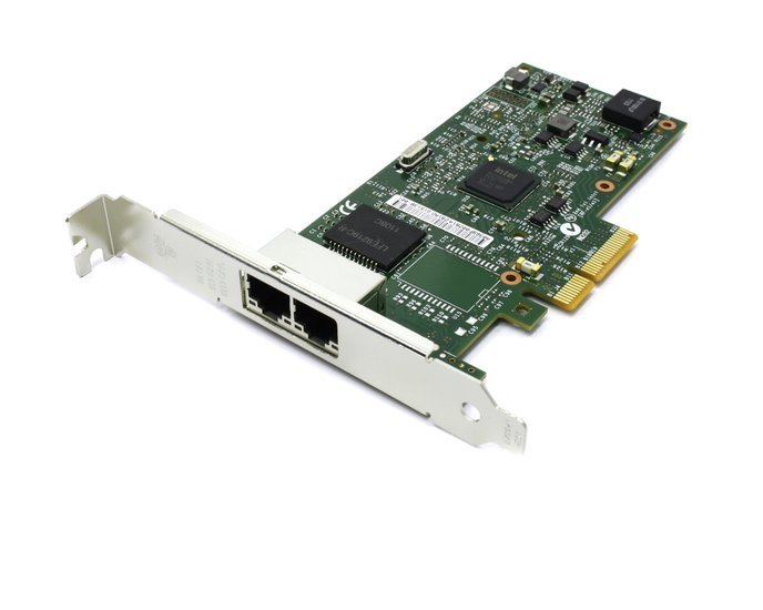 Adapter PCIe4x - 2x GigE-Vision - dual bus