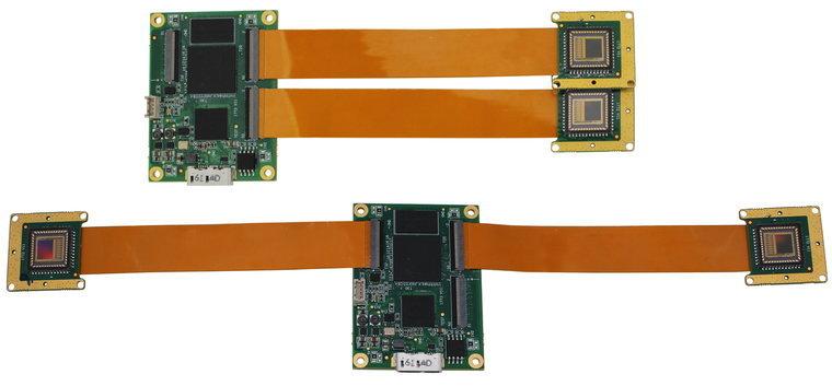 VEN-134-90U3C-D, Dual Head, 1280x1024, 90fps, 1/2