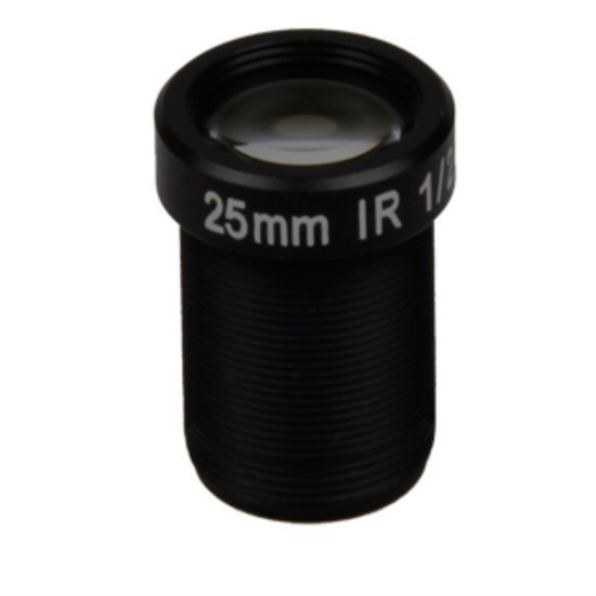 LM12-5MP-25MM-F2.4-2-ND1, LENS M12, 5MP, 25MM, F2.4, 1/2