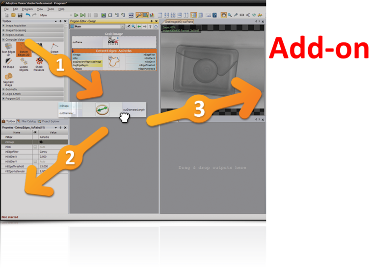 Adaptive Vision Studio 4.12 Library Add-ON + Code Generator