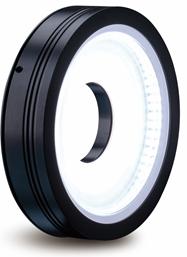 Ring light (diffuse flat bright-field), 100mm, white, 24V / 8,6W, LED1-RIH-100W