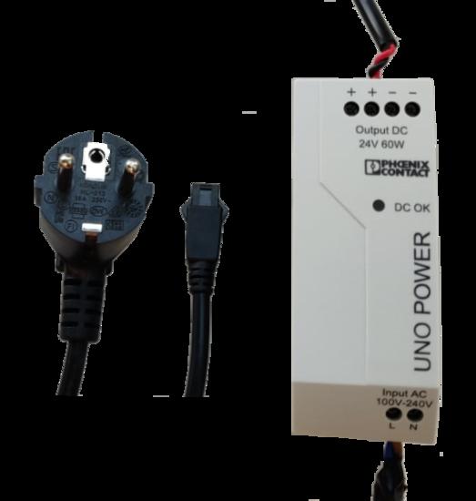 ACC-PS-24V-60W-SET-V1, 60W/24V, 1.5M power cable, 5M light cable