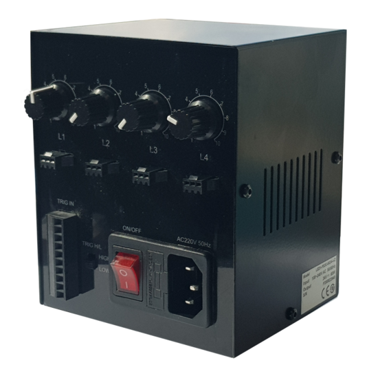 LED1-PS2C-6024-4-Z, 4 Channels, 24V/60W, Din rail