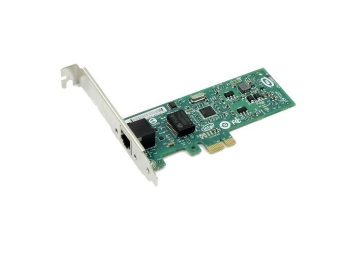 Adapter PCIe1x - 1x GigE-Vision - single bus