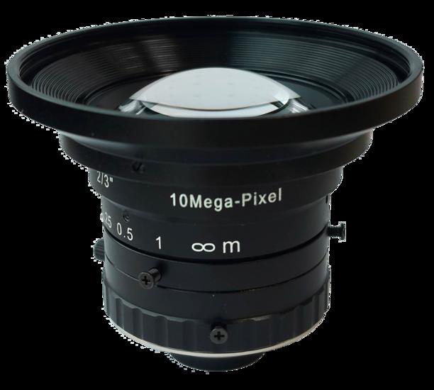 LCM-10MP-05MM-F1.8-1.5-LD1, LENS C-mount 10MP 5MM F1.8 2/3