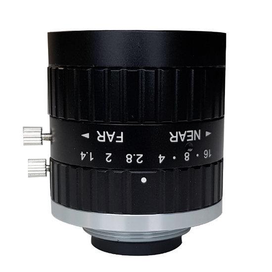 LCM-5MP-08MM-F1.4-1.5-ND1, LENS C-mount, 5MP, 8MM, F1.4, 2/3