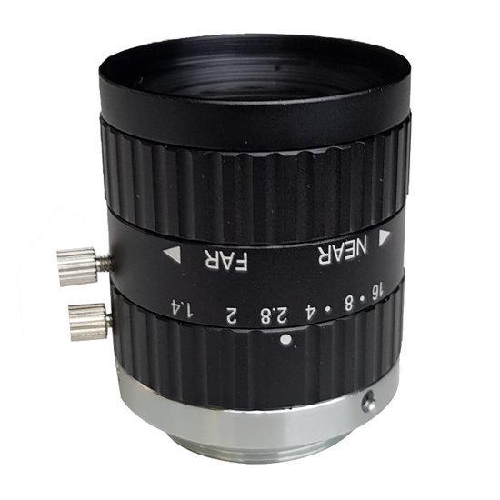 LCM-5MP-12MM-F1.4-1.5-ND1, LENS C-mount, 5MP, 12MM, F1.4, 2/3