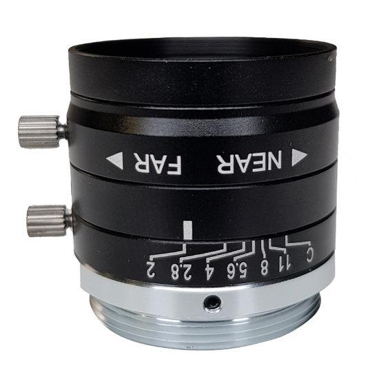 LCM-5MP-25MM-F2.0-1.8-ND1, LENS C-mount, 5MP, 25MM, F2.0, 1/1.8