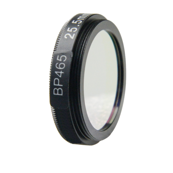 LFT-BP450-M35.5, Narrow bandpass filter, 450nM peak wavelength, useful range between 438-470nM