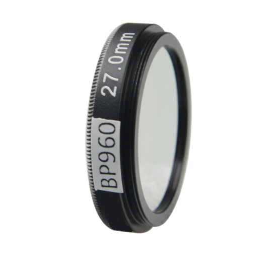 LFT-BP960-M25.5, Narrow bandpass filter,  960nM Peak wavelength, useful range between 930-986nM