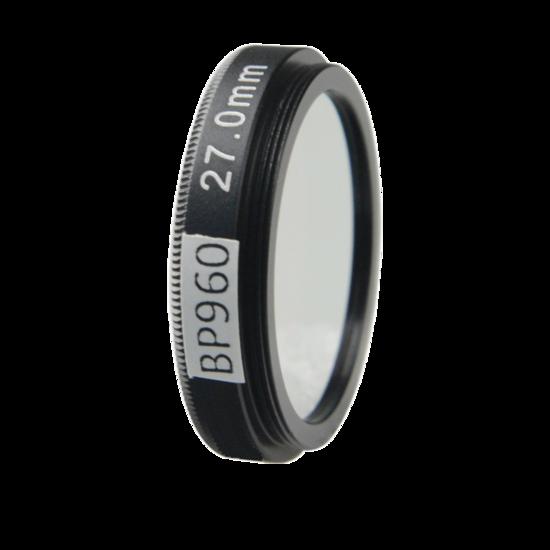LFT-BP960-M30.5, Narrow bandpass filter,  960nM Peak wavelength, useful range between 930-986nM