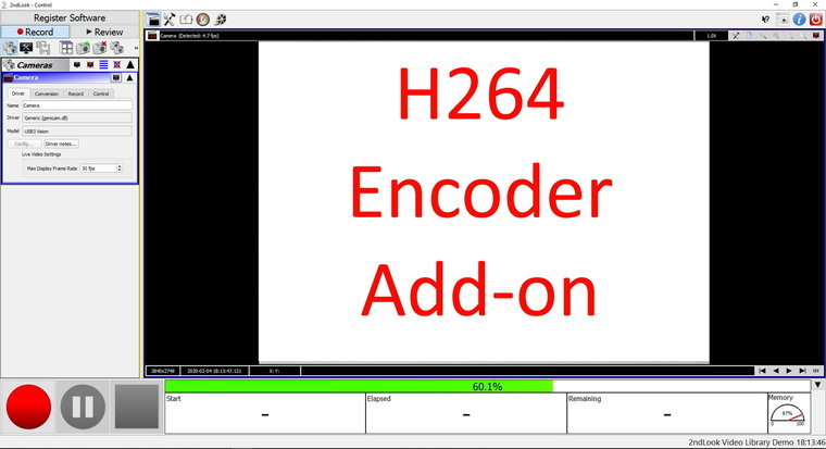IOI 2nd Look H264 CPU encoder add-on, not required for intel processor with intel quick sync