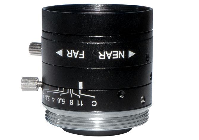 LCM-5MP-06MM-F2.0-1.8-ND1, LENS C-mount, 5MP, 6MM, F2.0, 1/1.8