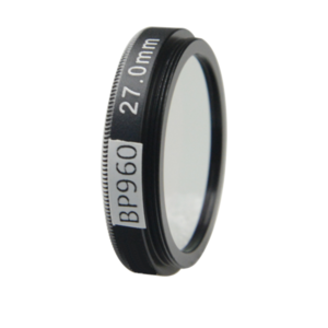 LFT-BP960-M35.5, Narrow bandpass filter,  960nM Peak wavelength, useful range between 930-986nM