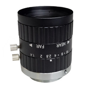 """LCM-5MP-12MM-F1.4-1.5-ND1, LENS C-mount, 5MP, 12MM, F1.4, 2/3"""" NON DISTORTION"""