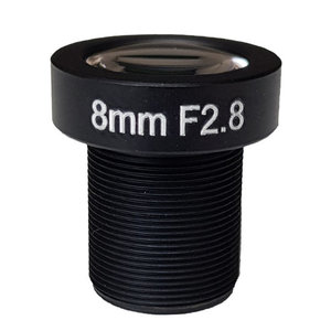 "LM12-5MP-08MM-F2.8-1.8-ND1, LENS M12, 5MP, 8MM, F2.8, 1/1.8"" NON DISTORTION"